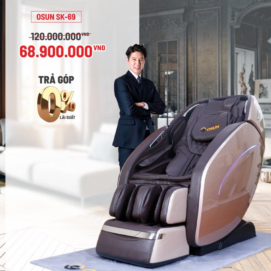 Ghế Massage Toàn Thân Cao Cấp OSUN SK-69