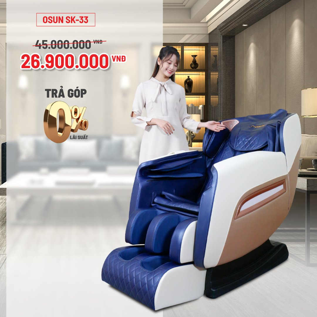 Ghế Massage Toàn Thân OSUN SK-33